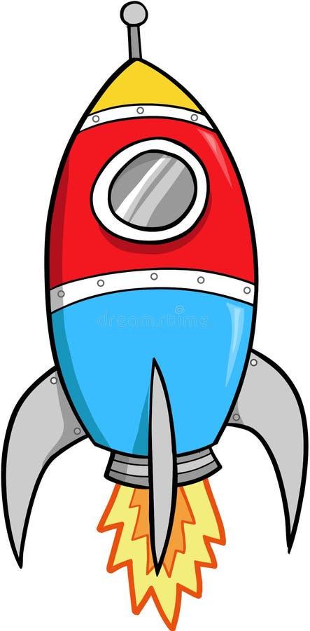 διάνυσμα πυραύλων απεικόνισης απεικόνιση αποθεμάτων