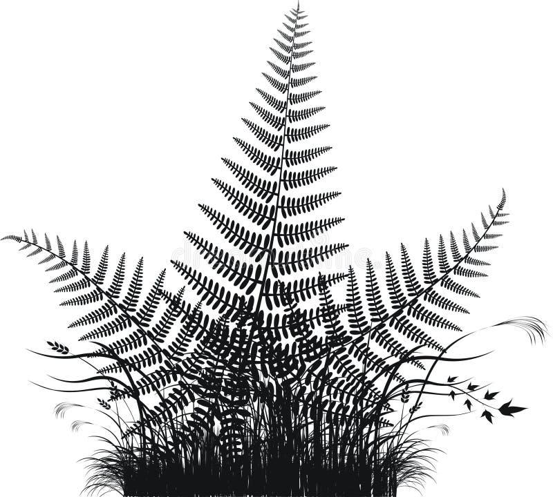 διάνυσμα σκιαγραφιών φύλ&lambda ελεύθερη απεικόνιση δικαιώματος