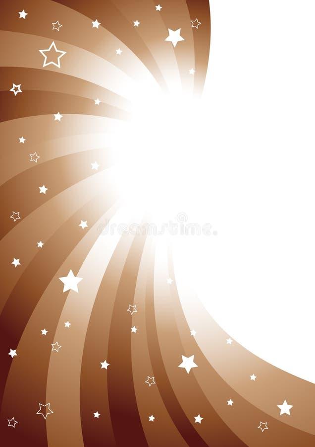 διάνυσμα σοκολάτας ανα&sig διανυσματική απεικόνιση