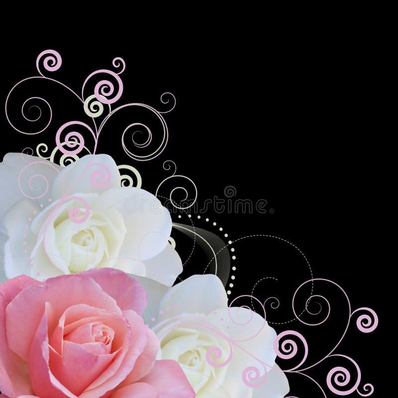 διάνυσμα στροβίλων τριαντ στοκ εικόνες