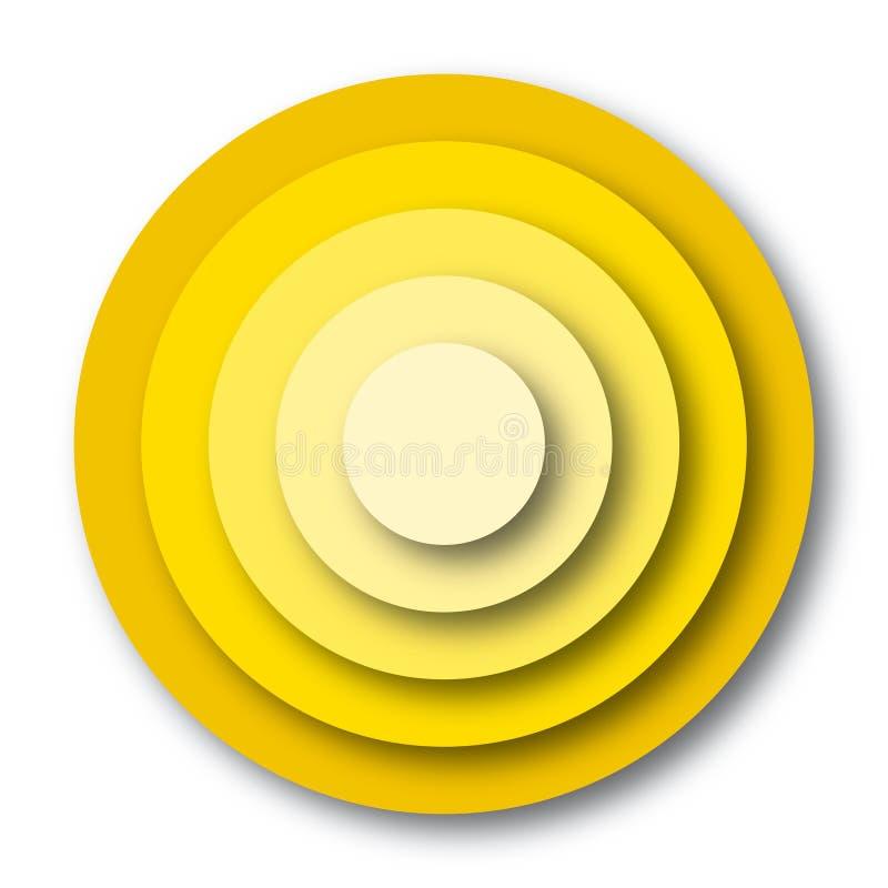 διάνυσμα στόχων χρωμάτων ελεύθερη απεικόνιση δικαιώματος