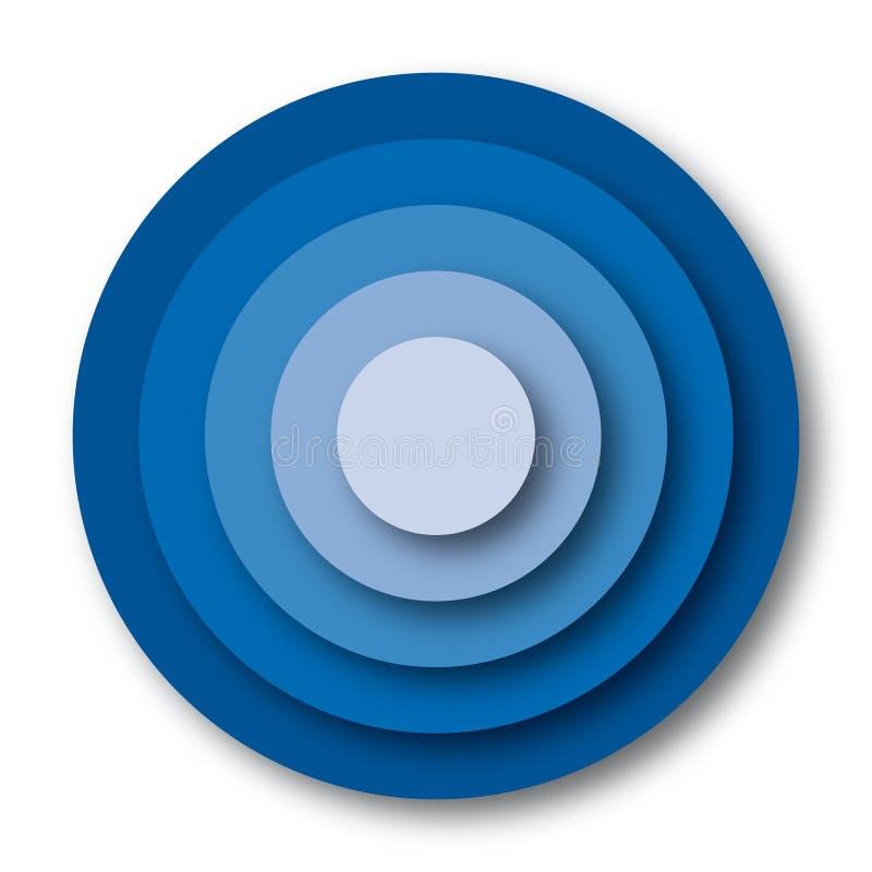 διάνυσμα στόχων χρωμάτων απεικόνιση αποθεμάτων