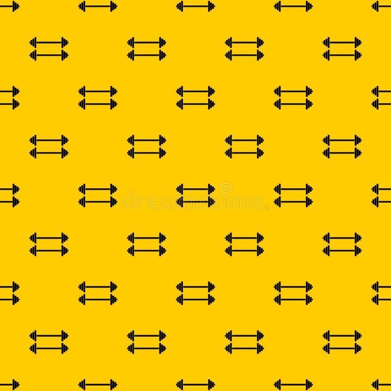 Διάνυσμα σχεδίων δύο barbells διανυσματική απεικόνιση