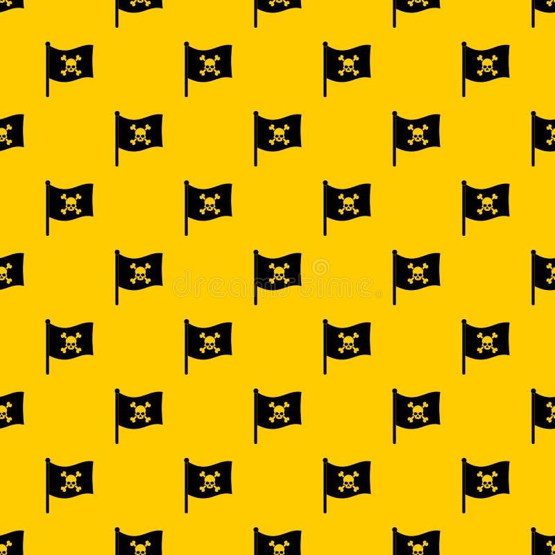 Διάνυσμα σχεδίων σημαιών πειρατών ελεύθερη απεικόνιση δικαιώματος
