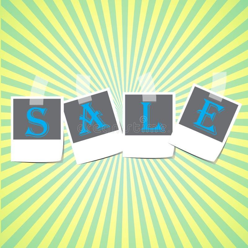 Διάνυσμα σχεδίου πλαισίων πώλησης στοκ εικόνα με δικαίωμα ελεύθερης χρήσης