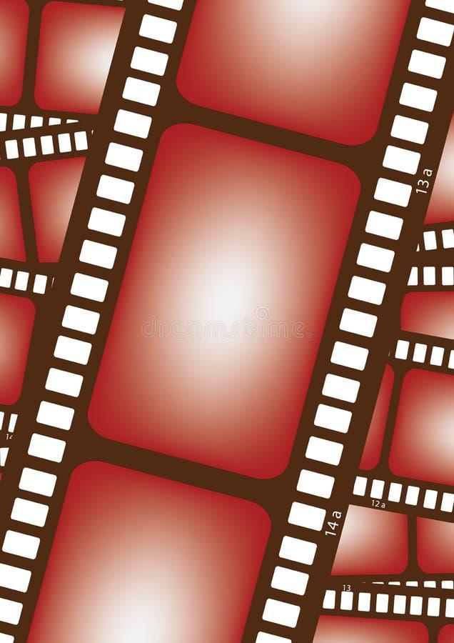 διάνυσμα ταινιών 35mm απεικόνιση αποθεμάτων