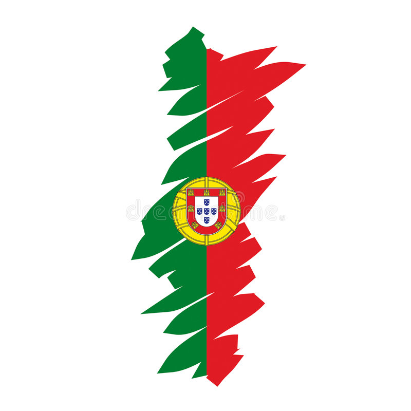 διάνυσμα της Πορτογαλία&si απεικόνιση αποθεμάτων