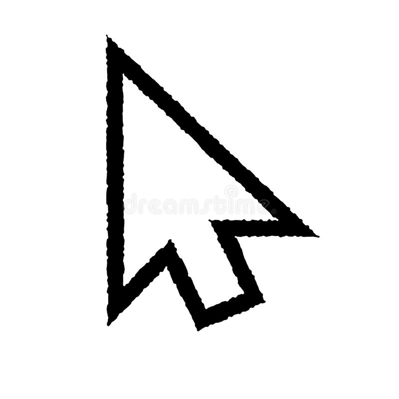 Διάνυσμα του εικονιδίου δρομέων doodle EPS8 ελεύθερη απεικόνιση δικαιώματος