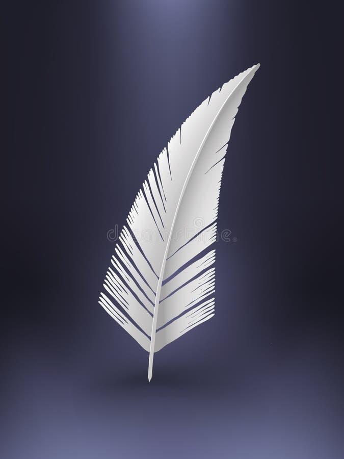 διάνυσμα φτερών διανυσματική απεικόνιση