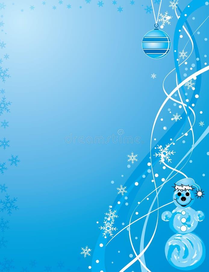διάνυσμα Χριστουγέννων ανασκόπησης απεικόνιση αποθεμάτων