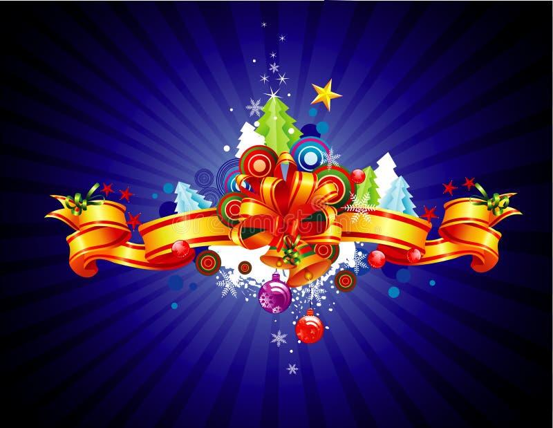 διάνυσμα Χριστουγέννων ε& διανυσματική απεικόνιση