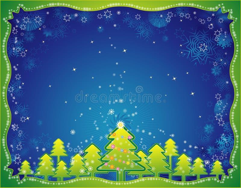 διάνυσμα Χριστουγέννων κ&al απεικόνιση αποθεμάτων