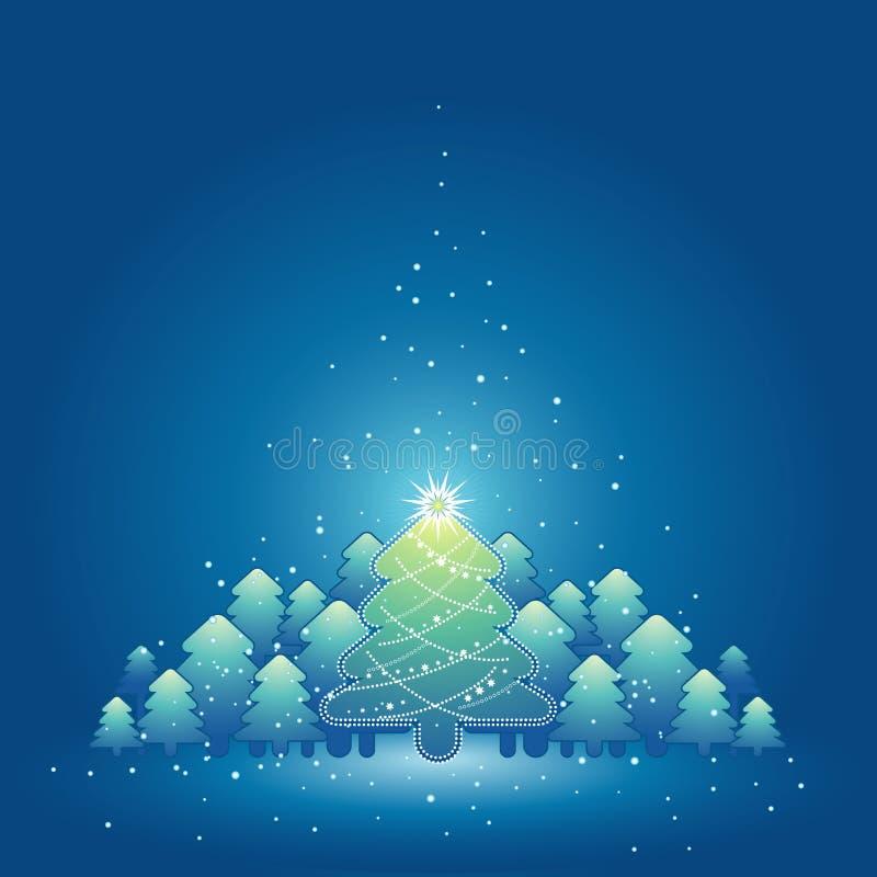 διάνυσμα Χριστουγέννων κ&al διανυσματική απεικόνιση