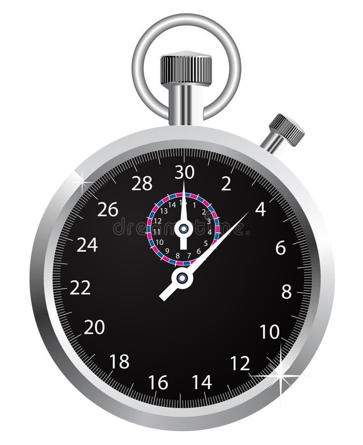 διάνυσμα χρονομέτρων με δ&iot διανυσματική απεικόνιση