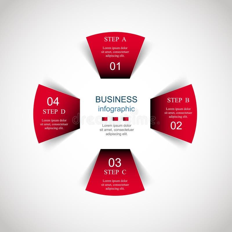 Διάνυσμα infographic ελεύθερη απεικόνιση δικαιώματος