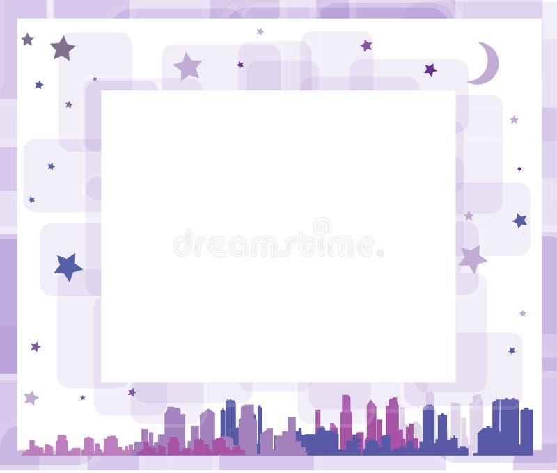 Διάνυσμα photoframe απεικόνιση αποθεμάτων