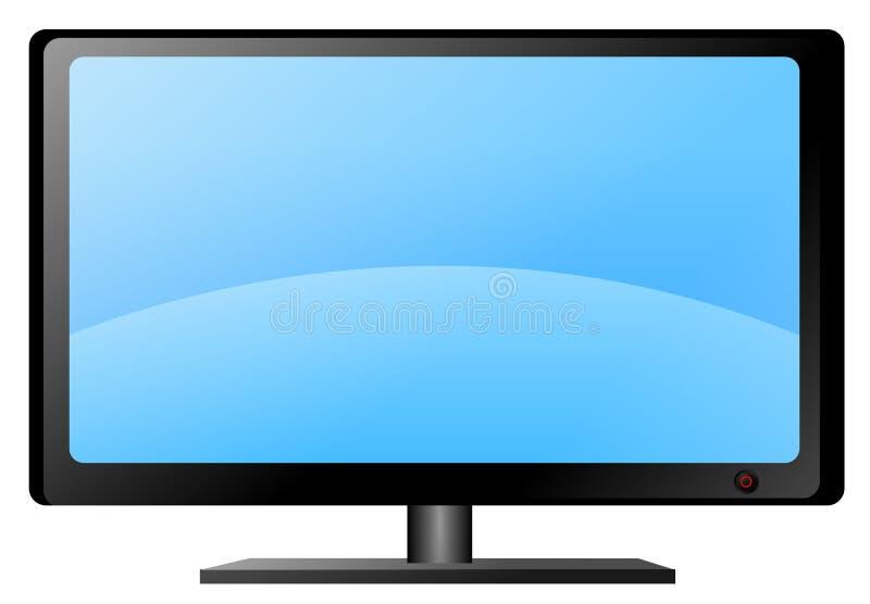 διάνυσμα TV απεικόνιση αποθεμάτων