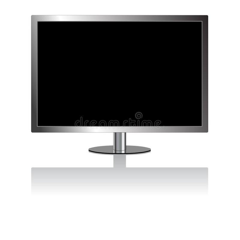 Διάνυσμα: TV LCD ελεύθερη απεικόνιση δικαιώματος