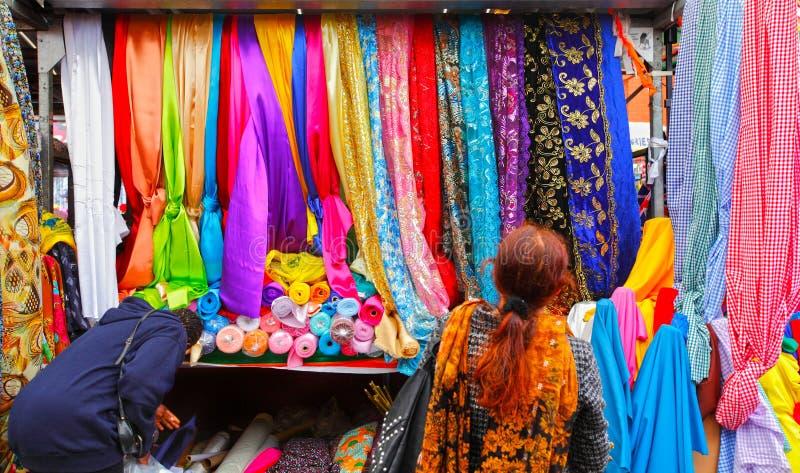 Διάσημη αγορά κουρελιών του Μπέρμιγχαμ στοκ εικόνες