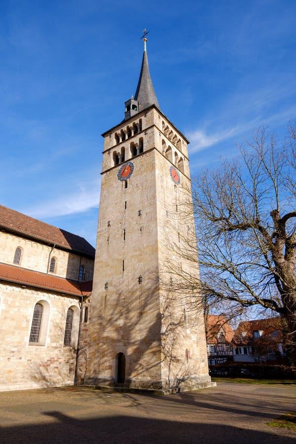 Διάσημη εκκλησία Μαρτινφούτσε στο Sindelfingen γερμανία στοκ εικόνες