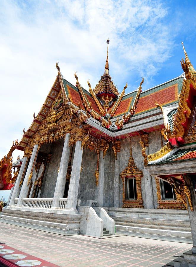 Διάσημος ναός στη Μπανγκόκ Ταϊλάνδη στοκ εικόνες