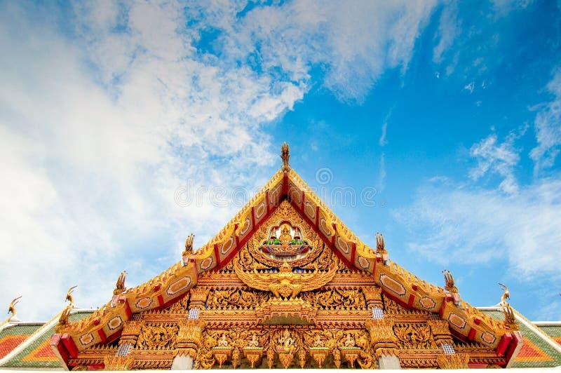 Διάσημος ναός στη Μπανγκόκ Ταϊλάνδη στοκ φωτογραφίες