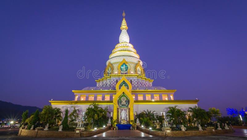 Διάσημος ναός Thaton Wat ChiangMai, Ταϊλάνδη στοκ φωτογραφία με δικαίωμα ελεύθερης χρήσης