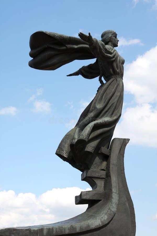 διάσημο μνημείο του Κίεβ&omicr στοκ φωτογραφίες