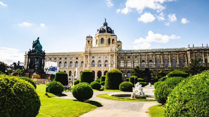 Διάσημο μουσείο φυσικής ιστορίας μουσείων Naturhistorisches στη Βιέννη Αυστρία στοκ εικόνα με δικαίωμα ελεύθερης χρήσης