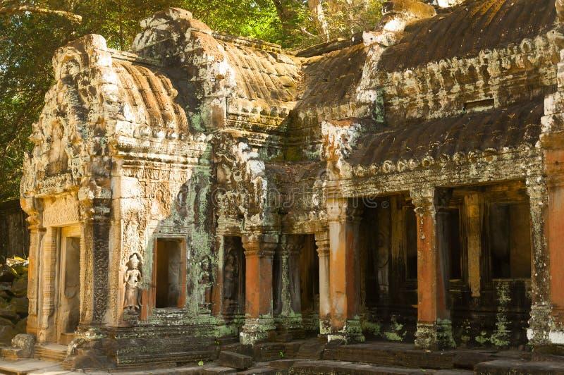Διάσημο ορόσημο της Καμπότζης Το παγκόσμιο μεγαλύτερο θρησκευτικό μνημείο, ναός Prasat Angkor Nokor Wat σύνθετος, Siem συγκεντρών στοκ φωτογραφία με δικαίωμα ελεύθερης χρήσης