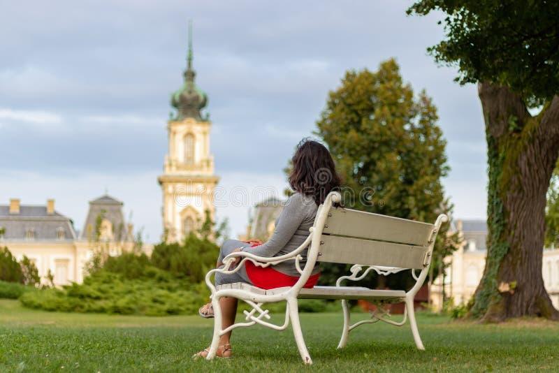 Διάσημο ουγγρικό κάστρο Festetics σε μια πόλη Keszthely στοκ εικόνες με δικαίωμα ελεύθερης χρήσης