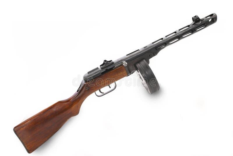 διάσημο σοβιετικό submachine ΕΣΣΔ πυροβόλων όπλων στοκ εικόνα με δικαίωμα ελεύθερης χρήσης