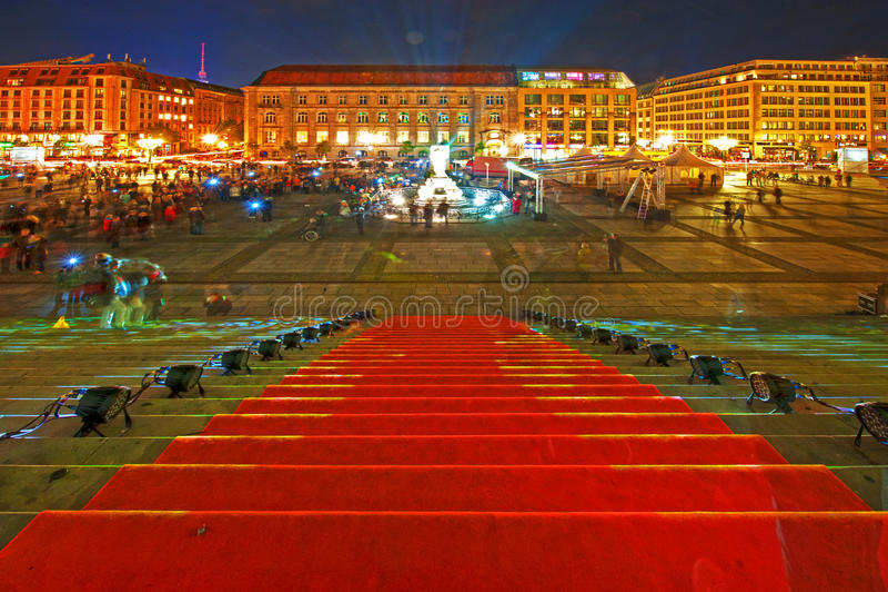 Φεστιβάλ των φω'των στοκ φωτογραφία με δικαίωμα ελεύθερης χρήσης
