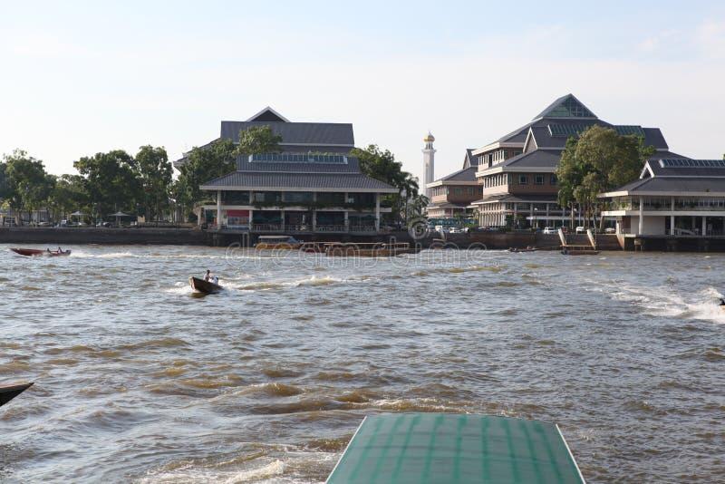 Διάσημο χωριό νερού στο Μπρουνέι Μπόρνεο στοκ φωτογραφία