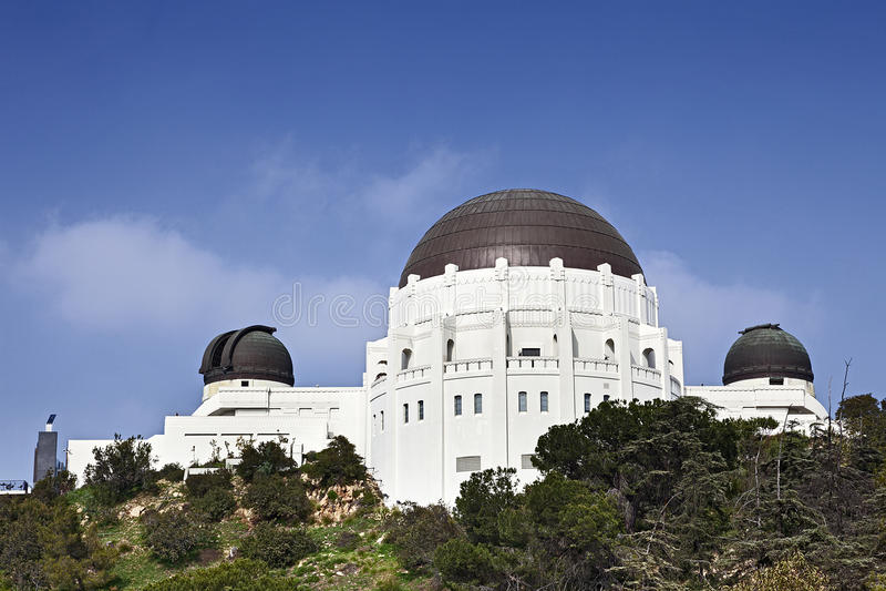 Griffith παρατηρητήριο στοκ φωτογραφίες με δικαίωμα ελεύθερης χρήσης
