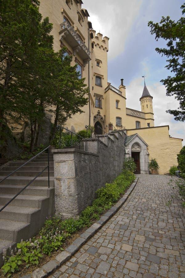 διάσημο hohenschwangau της Γερμανίας κάστρων στοκ φωτογραφία με δικαίωμα ελεύθερης χρήσης