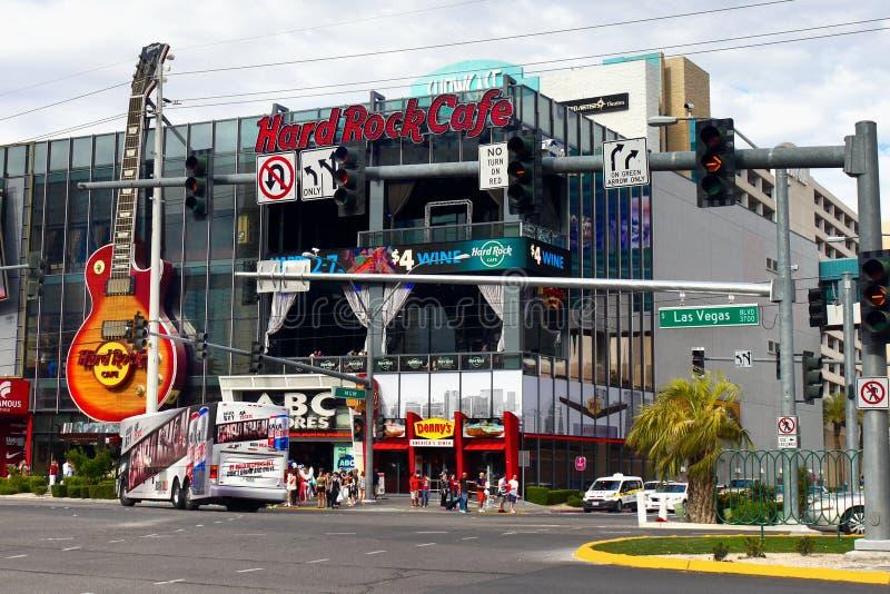 Διάσημο Las Vegas Strip, έλξη, λεωφόρος, Νεβάδα, ΗΠΑ στοκ εικόνες με δικαίωμα ελεύθερης χρήσης