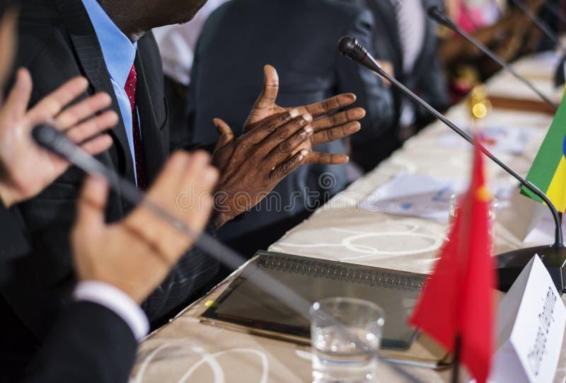 Διάσκεψη σεμιναρίου συνεδρίασης της συμμαχίας ένωσης στοκ φωτογραφίες