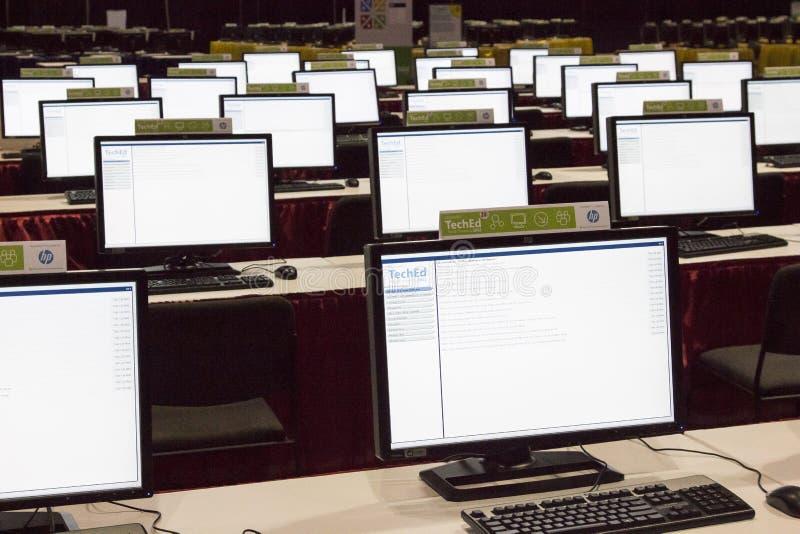 Διάσκεψη 2012 της Microsoft TechEd στοκ εικόνες