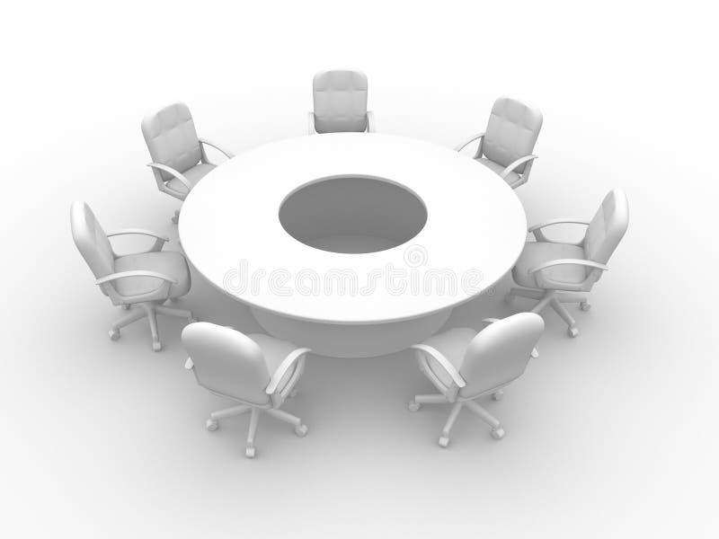 διάσκεψη διανυσματική απεικόνιση