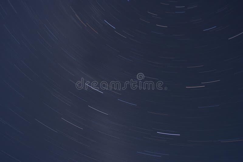Διάστημα ιχνών αστεριών στοκ φωτογραφίες με δικαίωμα ελεύθερης χρήσης