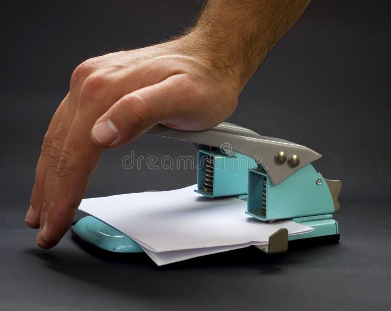 διάτρηση τρυπών στοκ φωτογραφία με δικαίωμα ελεύθερης χρήσης