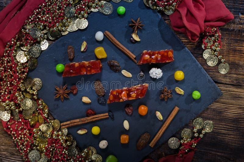Διάφορα γλυκά της ανατολής στοκ εικόνες με δικαίωμα ελεύθερης χρήσης