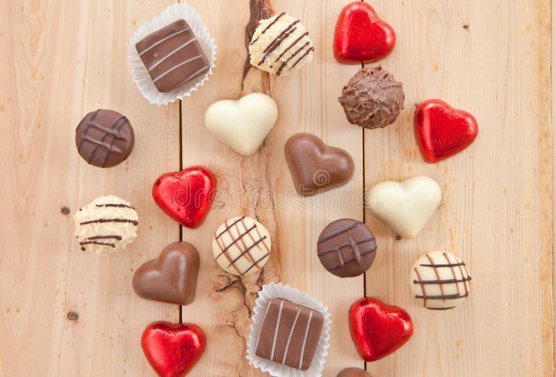 Διάφορες σοκολάτες στοκ εικόνα με δικαίωμα ελεύθερης χρήσης