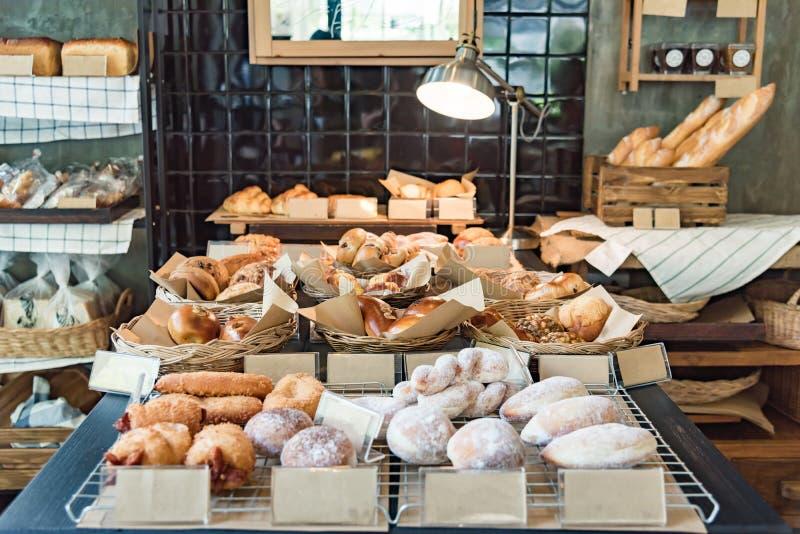Διάφορο φρέσκο αρτοποιείο στοκ εικόνες με δικαίωμα ελεύθερης χρήσης