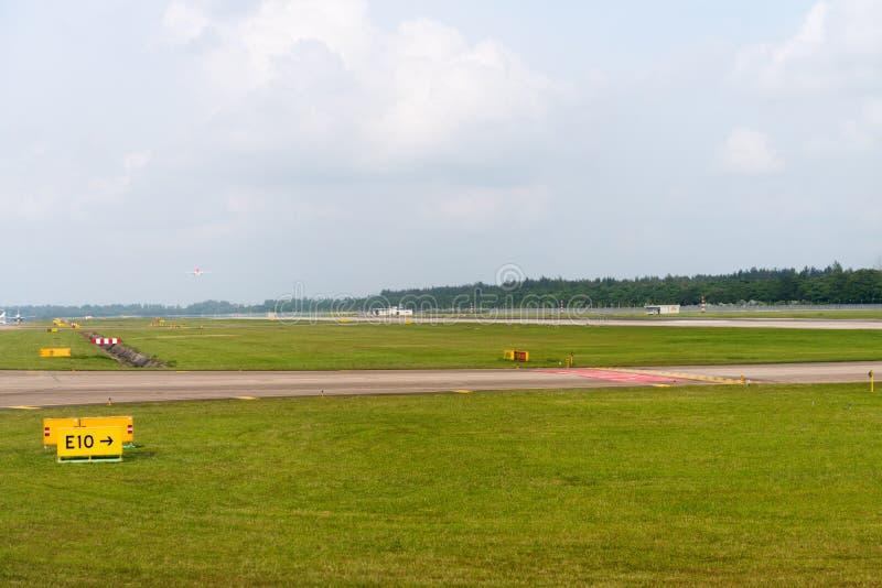Διάδρομος αερολιμένων στοκ εικόνες με δικαίωμα ελεύθερης χρήσης