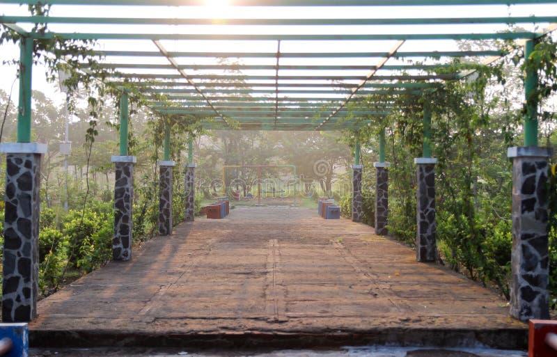 Διάδρομος στο πάρκο στοκ εικόνες