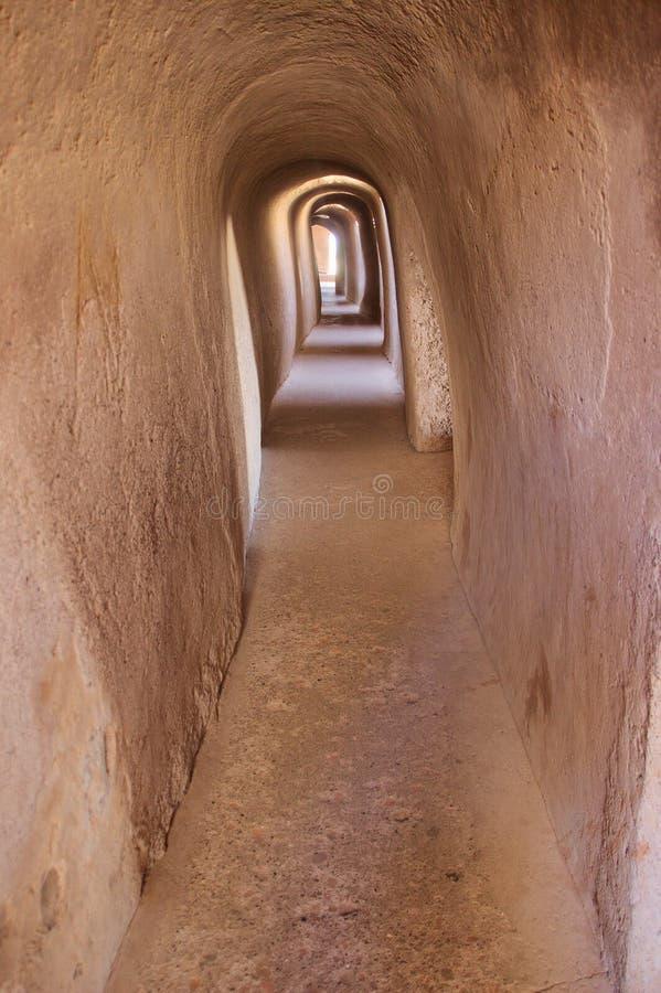 Διάδρομος στο περίπτερο Roopmati στοκ εικόνα με δικαίωμα ελεύθερης χρήσης
