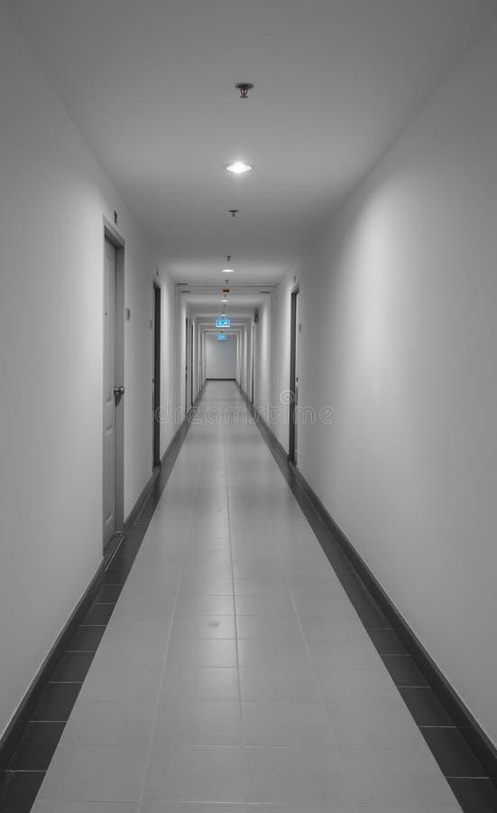 Διάδρομος στο dorm ή το διαμέρισμα στοκ φωτογραφία