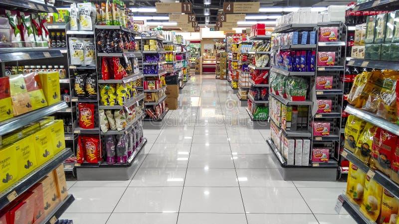 Διάδρομος Χογκ Κογκ υπεραγορών στοκ εικόνες με δικαίωμα ελεύθερης χρήσης